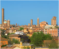 View of Bologna, Italy
